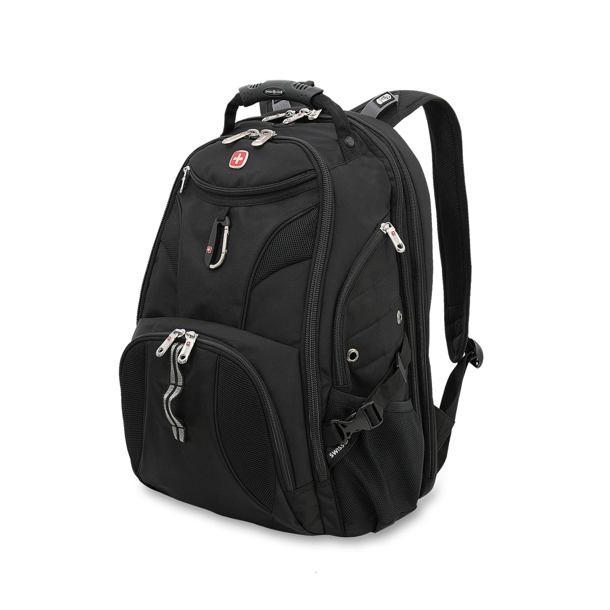 521cc2c4234 SwissGear 1900 Scansmart TSA Laptop Backpack - Black product image
