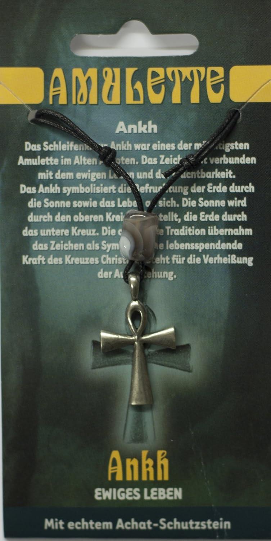 Amulett Ankh Zinn