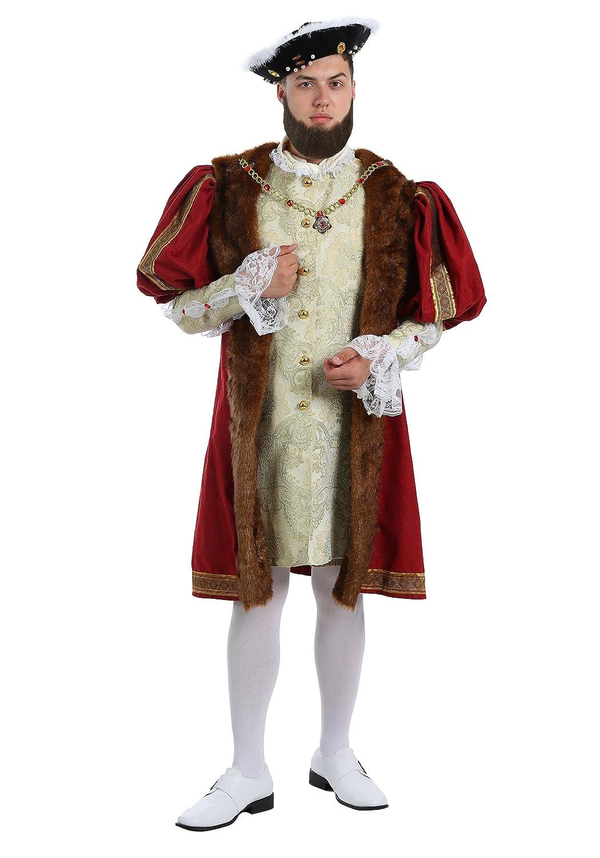 Adult King Henry Fancy Dress Costume Standard