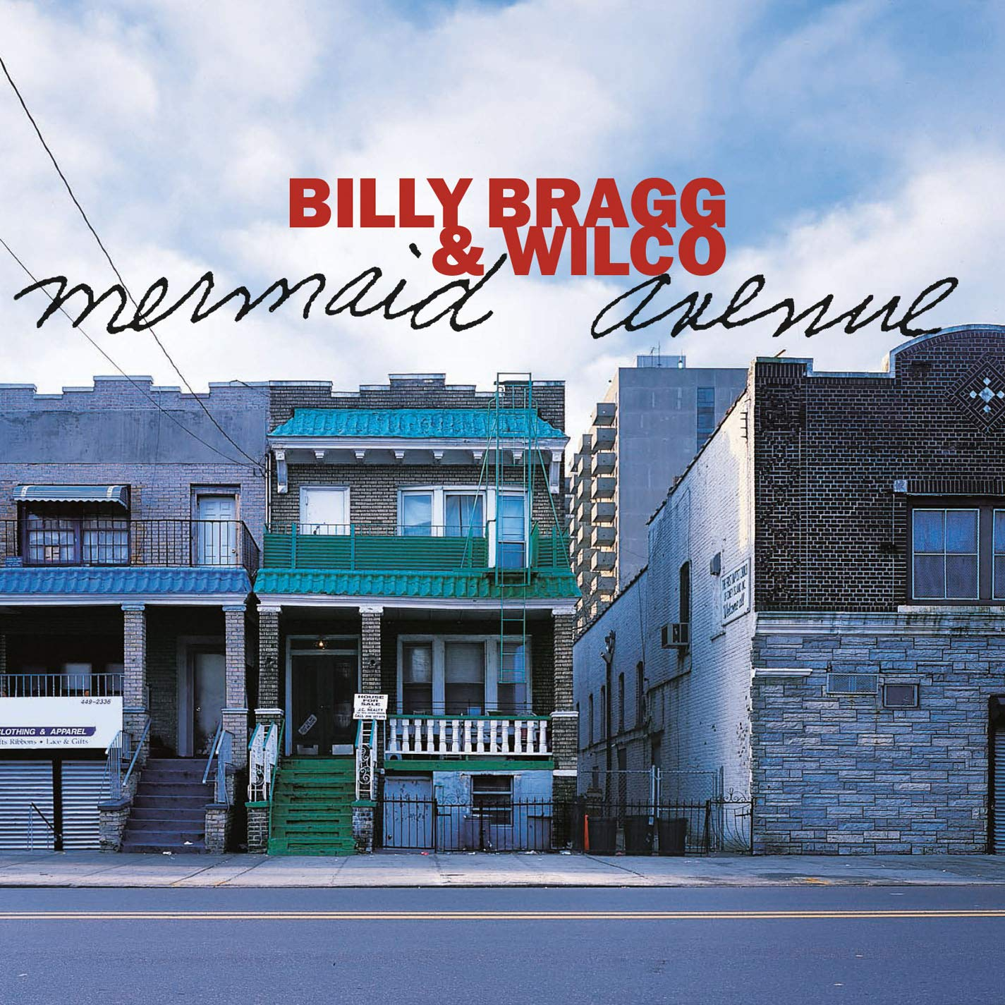 Billy Bragg & Wilco - Mermaid Avenue album cover