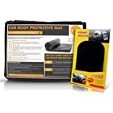 """Roof Rack Pad for Cars / Trucks / Vans / SUV Carriers (36"""" x 39"""") – Extra Padding & Grip - Residue Free Liner- Safely Carry Cargo / Bikes / Kayak / Surf or Paddle Board"""
