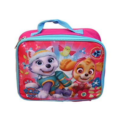 Paw Patrol Girls Insulated Lunch Box - Lunch Bag: Toys & Games