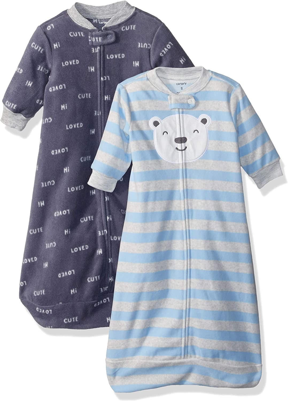 Simple Joys by Carters Unisex Baby 2-Pack Microfleece Sleepbag
