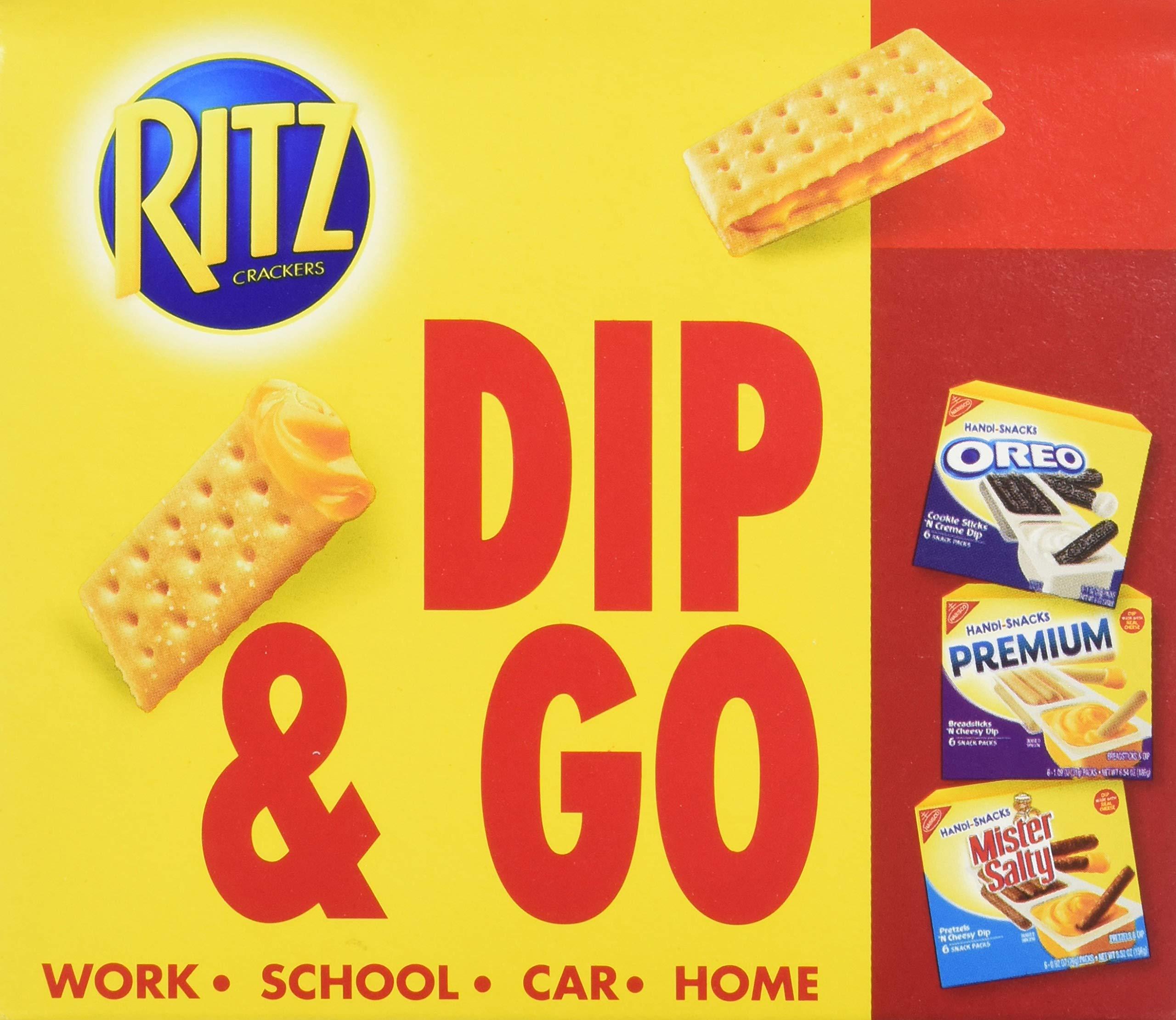 Handi Snacks Ritz Crackers 'n Cheese Dip, 5.7 Ounce (Pack of 12) by Ritz (Image #4)