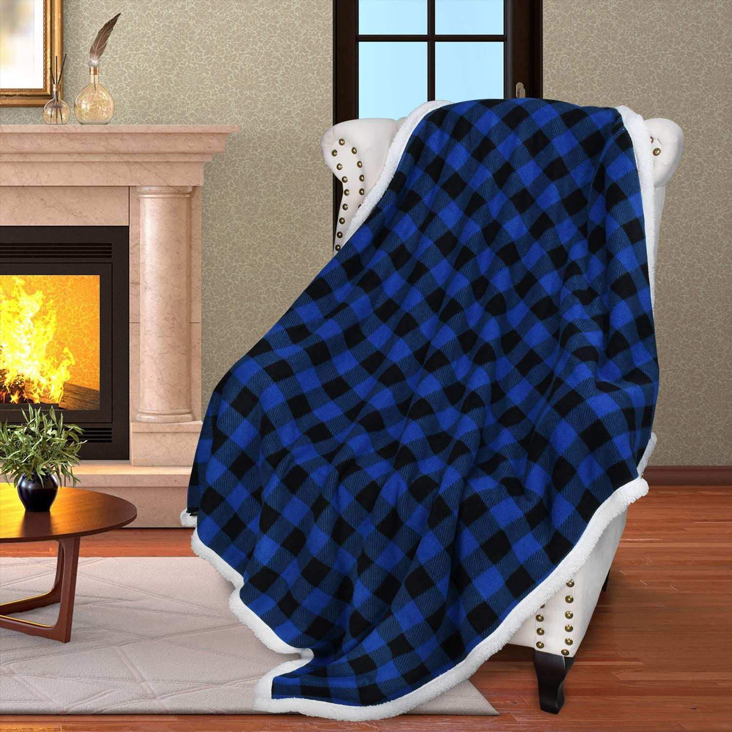 Catalonia TV Blanket Couch 60x50 Snuggle Warm Comfy
