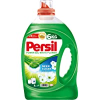 Persil Power Gel Liquid Laundry Detergent, White Flower - 3 Litres