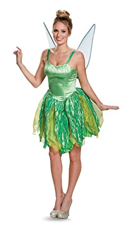 Beautiful Amazon.com: Endless Road Adult Tinkerbell Costume Prestige 88931 Green:  Clothing