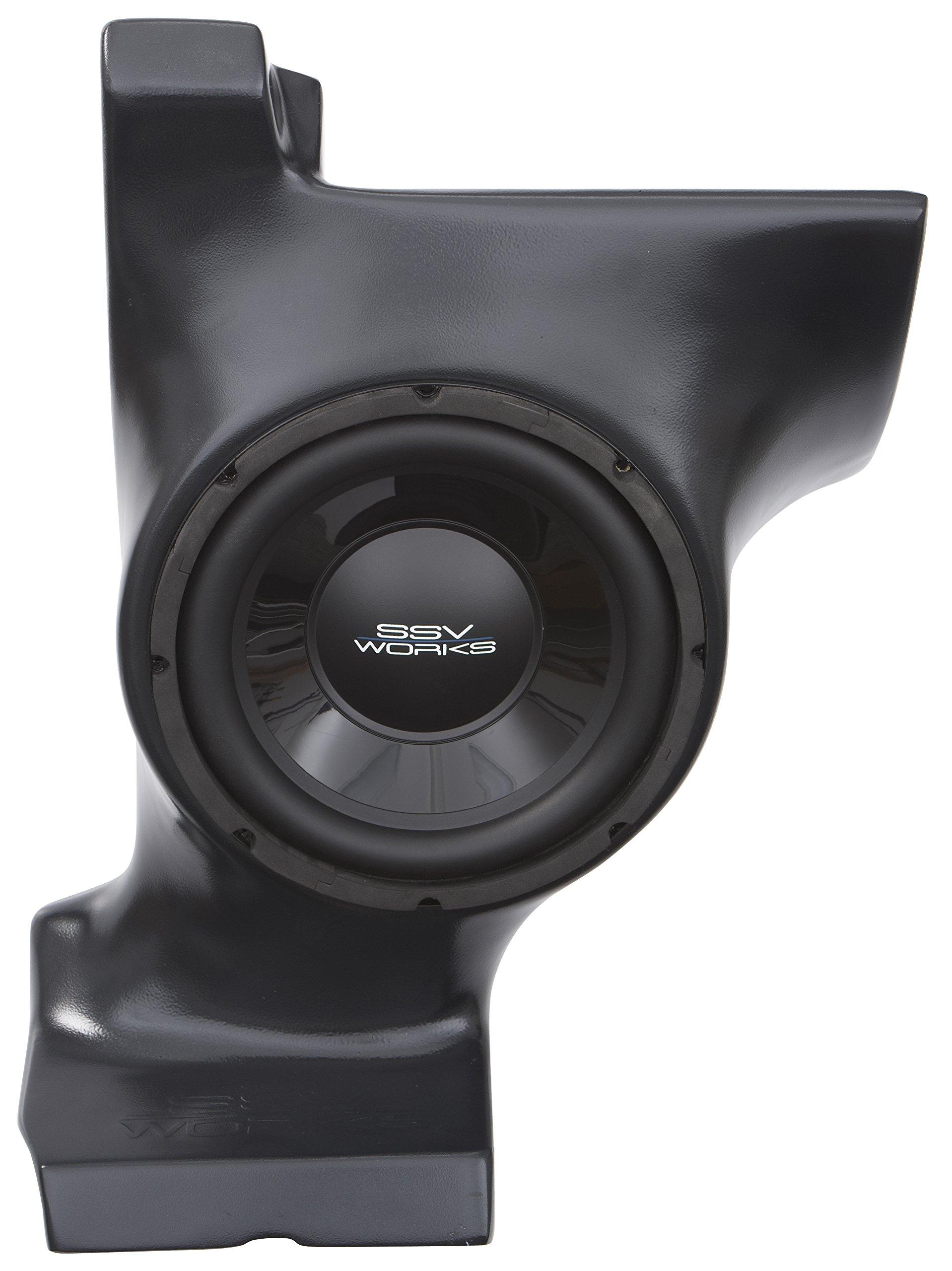 SSV Works Can-Am Commander and Maverick Under Dash Subwoofer Enclosure INCLUDES 10'' Speaker