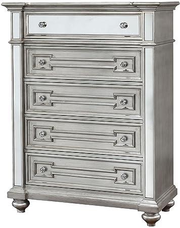 Amazon.com: furniture of america cm7673 °C Salamanca plata ...
