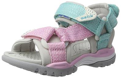 e6e9d5346 Geox J Borealis Girl a Wedge Heels Sandals  Amazon.co.uk  Shoes   Bags