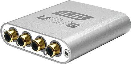 ESI UDJ6 tarjeta de audio - Tarjeta de sonido (24-bit/96kHz, USB, Power Macintosh G3, ...
