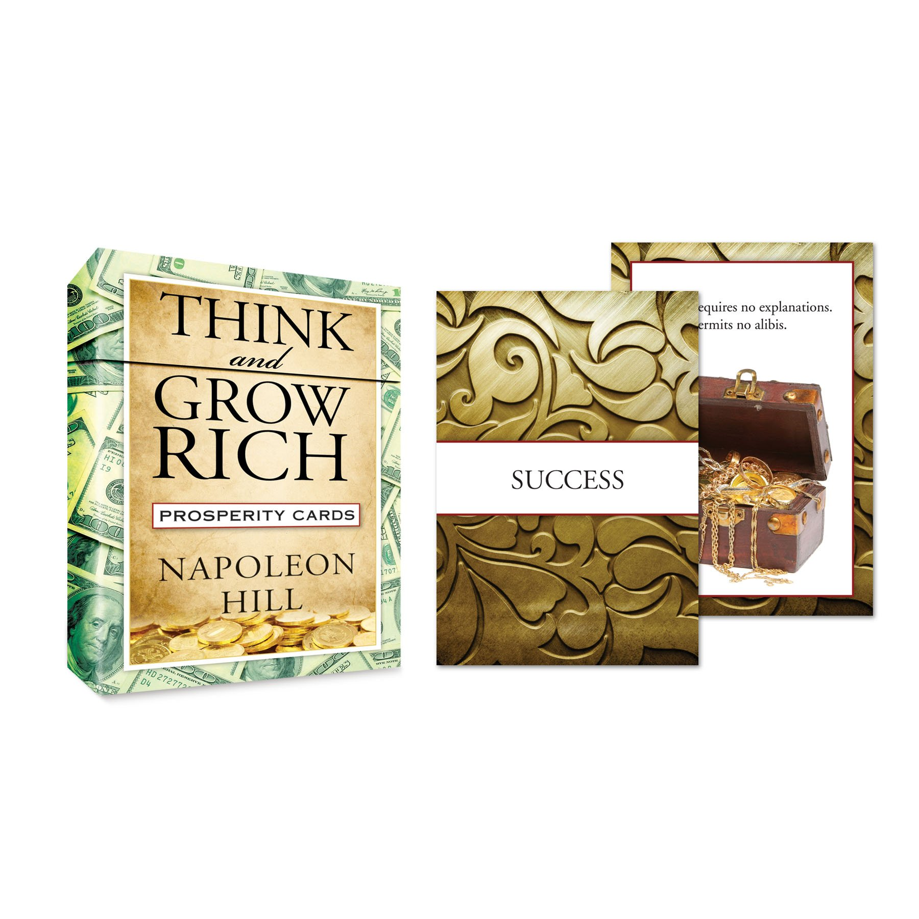 Read Online Think and Grow Rich Prosperity Cards (Tarcher Inspiration Cards) PDF