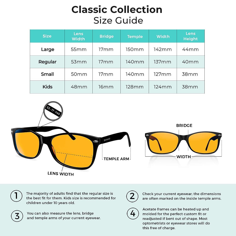 55be06607ec Blue Light Blocking Glasses - Swannies Gamer and Computer Eyewear for Deep  Sleep - Digital Eye Strain Prevention - FDA Registered Company - Swanwick  Sleep  ...