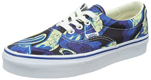 452bb849f2f Vans Era (Van Doren) Blue Marble Skate Shoes-Men 10.0
