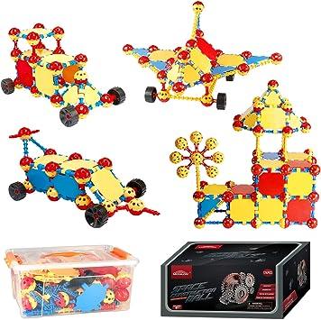Amazon.com: Monilon Juego de juguetes de construcción para ...