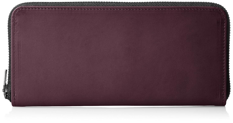 [ヴィンテージリバイバルプロダクションズ] 財布 roundzip slim oil leather 日本製 59230 B01M662CN8 ワイン ワイン
