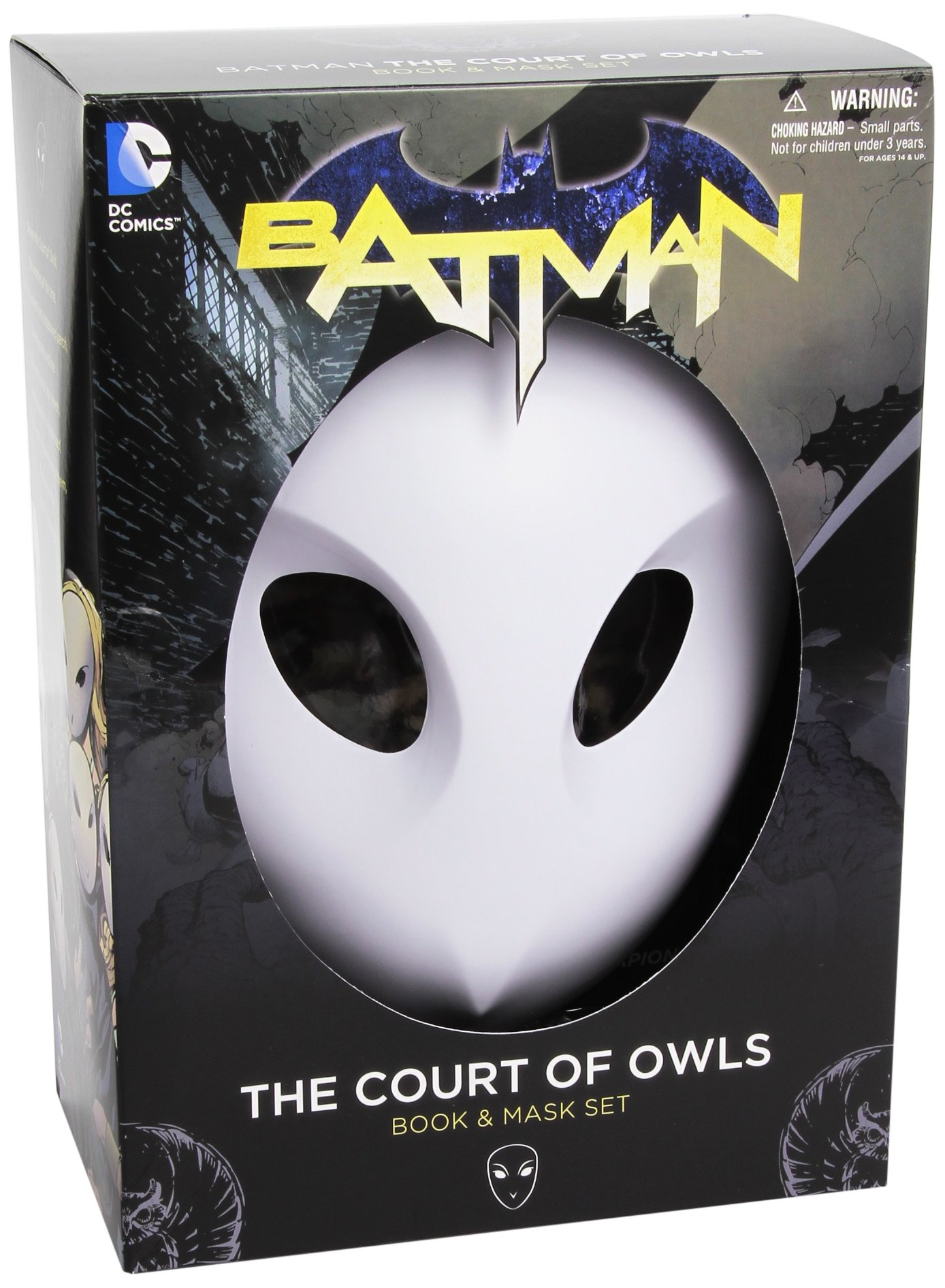 amazon com batman the court of owls mask and book set the new