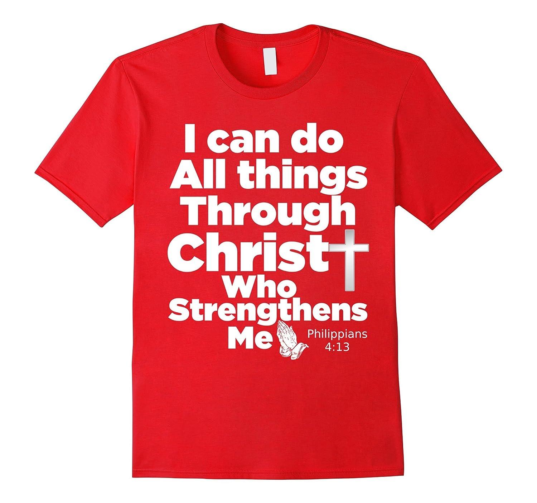 Christian Bible Verse T-Shirt - Jesus Christ God Tee Shirt-TH - TEEHELEN
