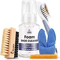 Foam Shoe Cleaner, Suede/Leather/Sneaker Shoe Cleaner, Shoe Cleaning Kit, Alloda