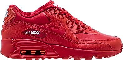 b64cf28cf2 Amazon.com | Nike 833412-606: Big Kid's Air Max 90 University Red ...