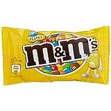 M&M'S Erdnuss / Schokolinsen mit knackigem Erdnusskern und bunter Zuckerhülle / Single Beutel für unterwegs / 24 x 45g mini Beutel