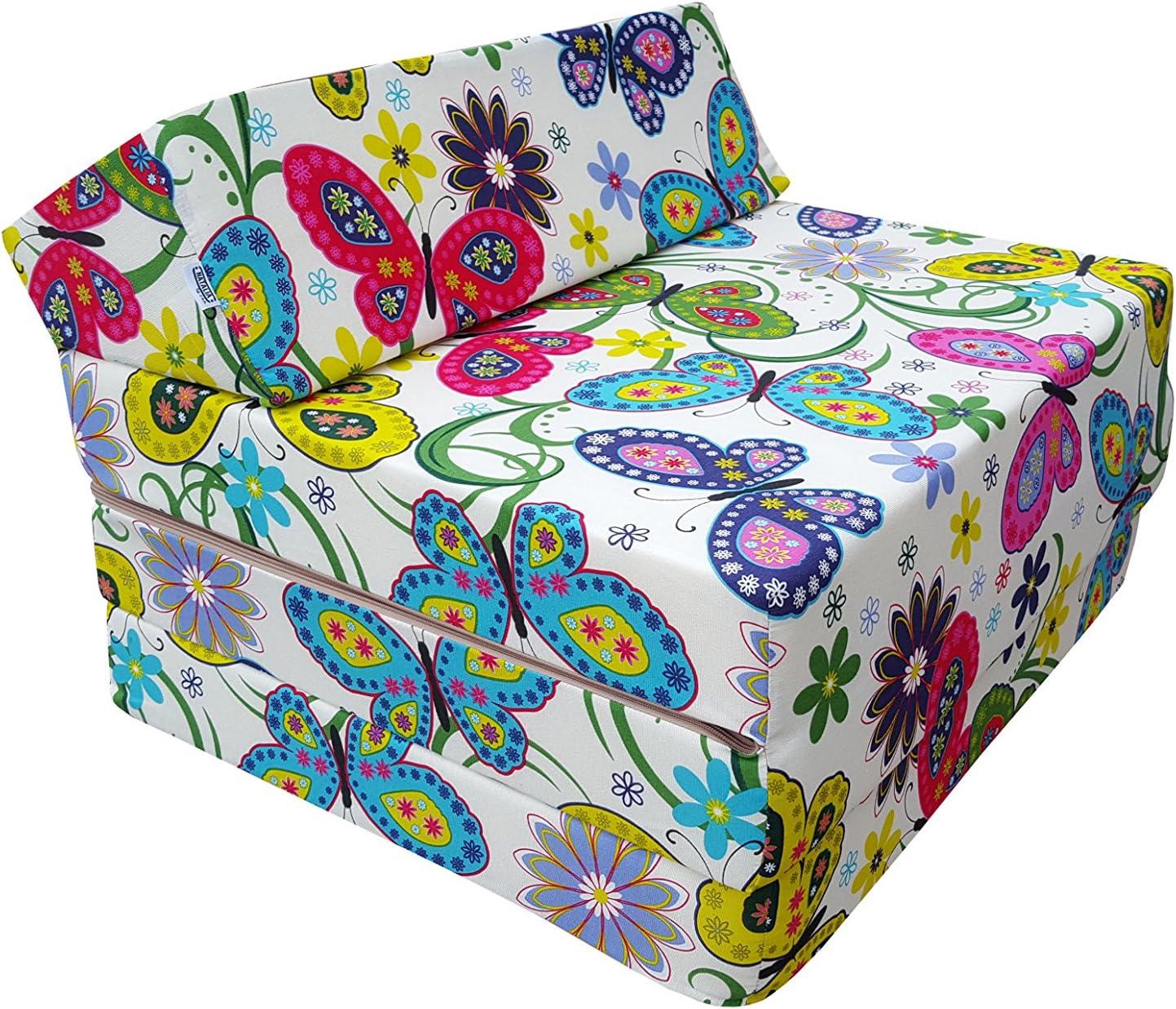 Colchón plegable, cama de invitados, colchón de espuma 200x70 cm (Garden)