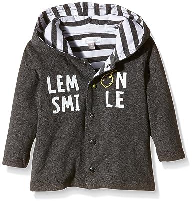 Absorba Baby Boys  Lemon Tree LG Cardigan Grey - Gris (Anthracite) 6  Months  Amazon.co.uk  Clothing e11ae1dd5f0