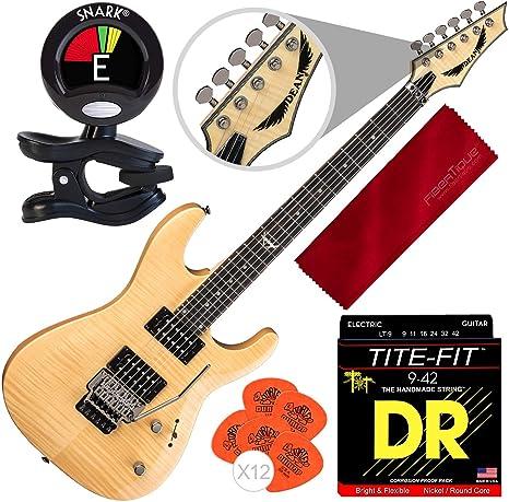 Dean Custom 350 Floyd guitarra eléctrica con puente Floyd Rose ...