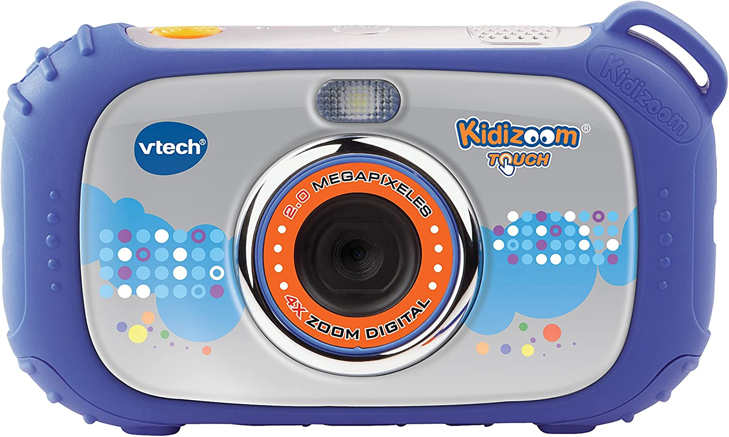 VTech - Cámara, Kidizoom Touch, Color Azul (3480-145022): Amazon ...