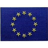 Bandera de la Unión Europea Europa de la UE Emblema Internacional Parche Bordado de Aplicación con Plancha