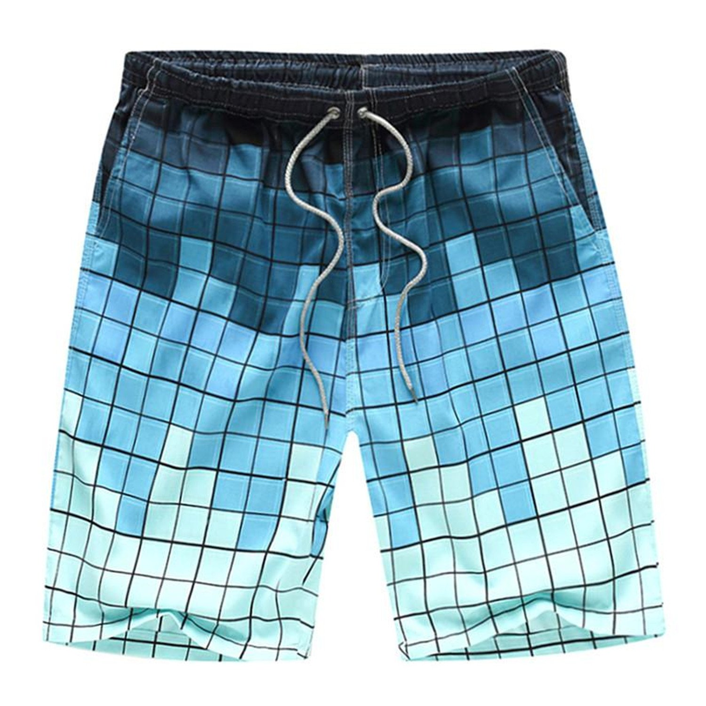 Orcan Bluce Men Swim Trunks Briefs Swimsuits Dry Quick Boxer Breathable Beach Shorts Swimwear 8 Colors