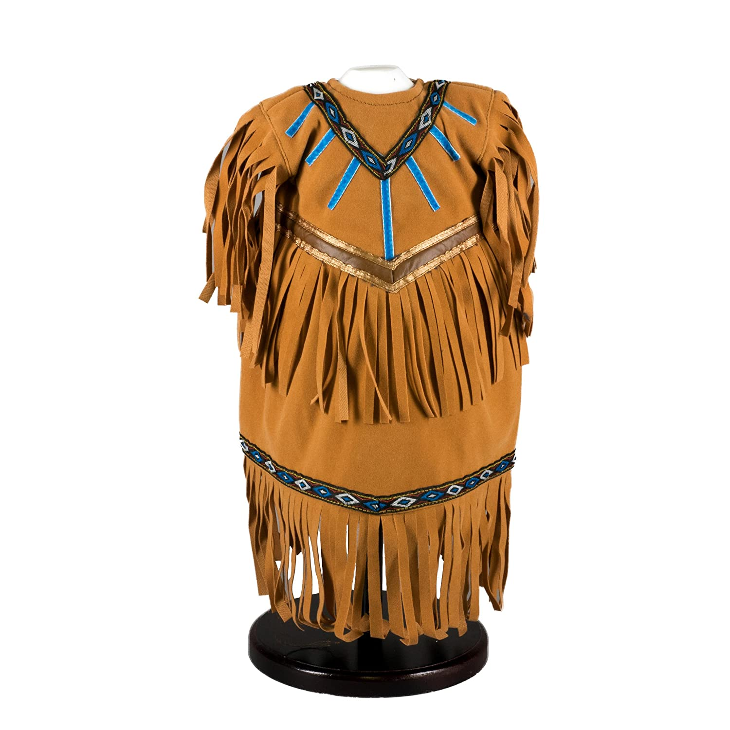the queen s treasures faux buckskin and fringe native