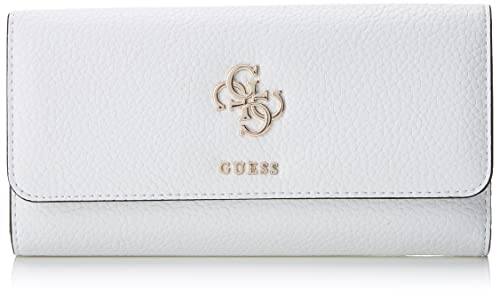 Guess - Slg Wallet, Carteras Mujer, Varios colores (White Multi), 2x10x20