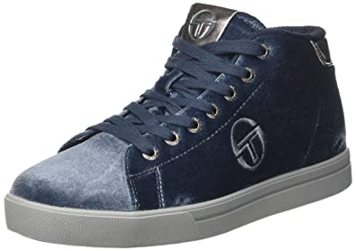 Womens Gt Her Mid Velvet Hi-Top Trainers Sergio Tacchini Led0y6