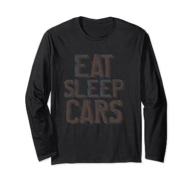 Amazon Com Eat Sleep Cars Drive Big Boy Toys Distressed Long T