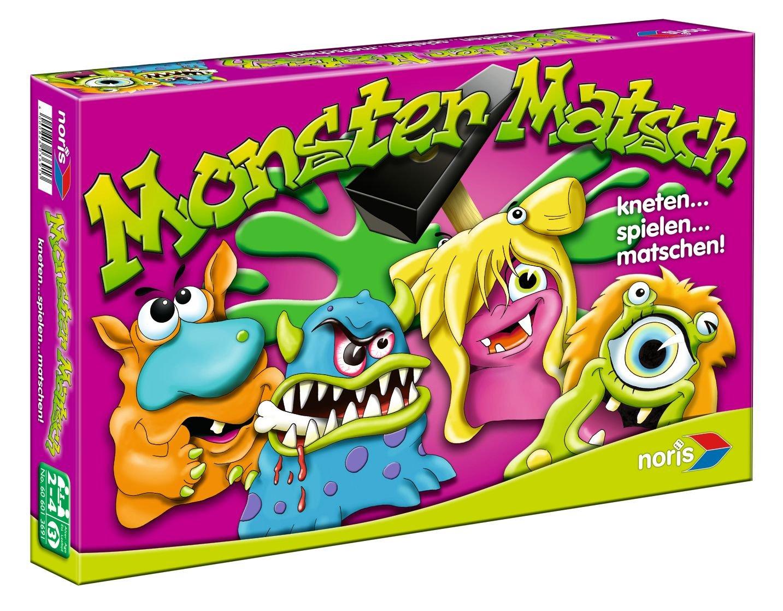 Noris Spiele 606013691 - Monster Matsch, Kinderspiel