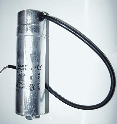 NoMo Longlive Industrie Kondensator mit Kabel 10/µF