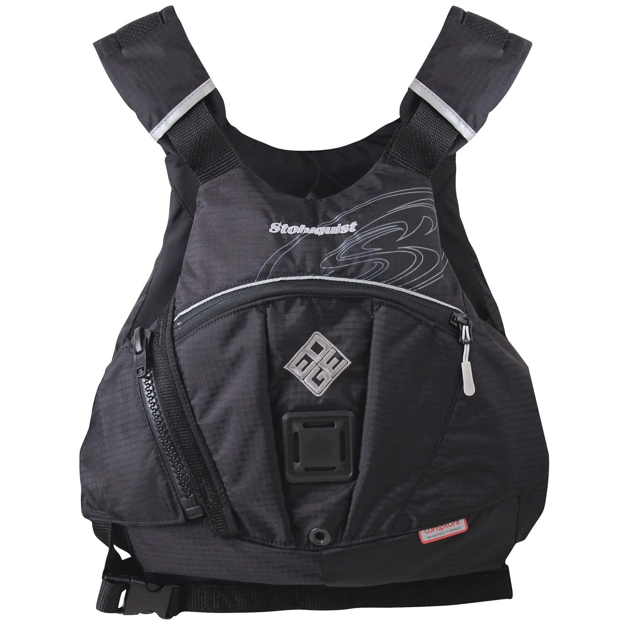 Stohlquist Edge Kayak Lifejacket-Black-S/M