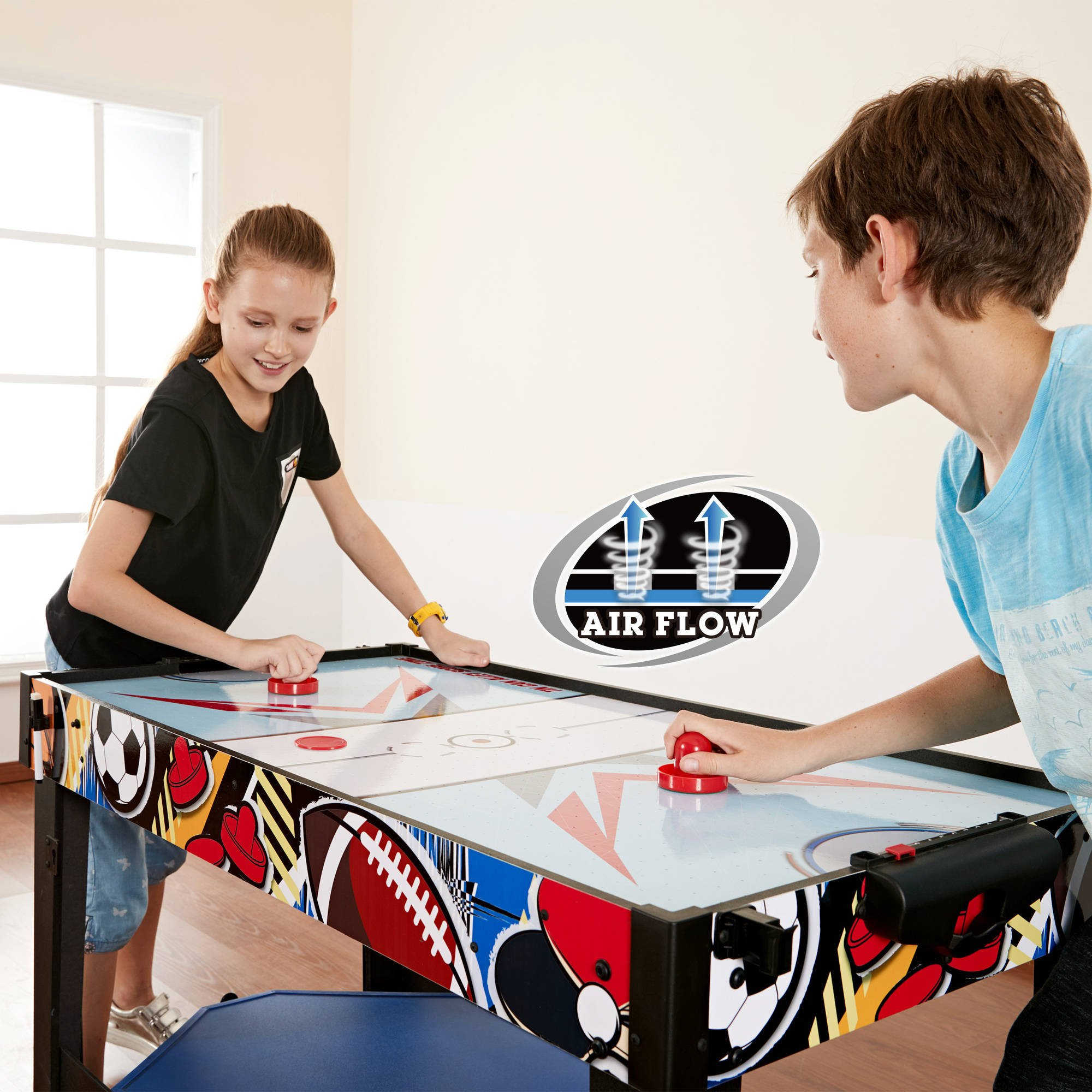 MD Sports 48 inch 12 in 1 Easily Convert Combo Multi-Game Table by Medal Sports (Image #2)
