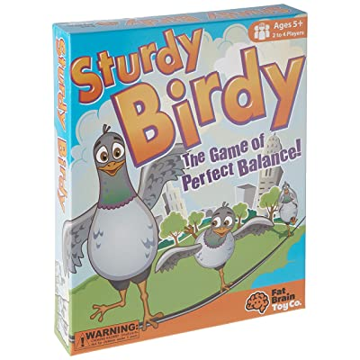 Fat Brain Toys Sturdy Birdy: Toys & Games