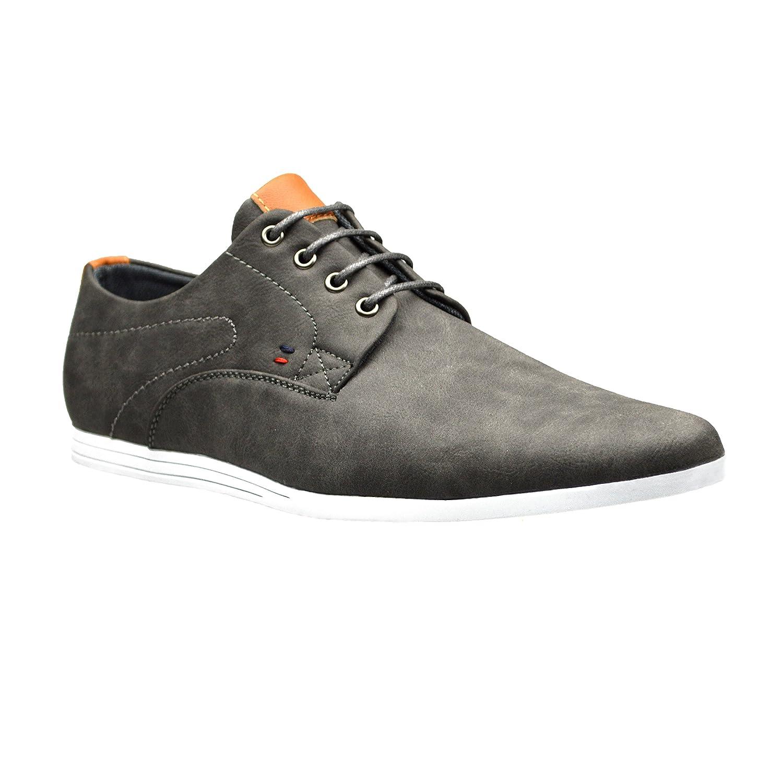 TALLA 5 UK. Zapatos para hombre Robelli, de piel, con cordón
