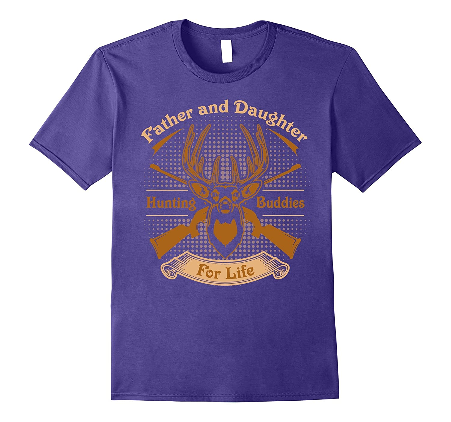 Father and Daughter hunting buddies for life T-Shirt-Vaci
