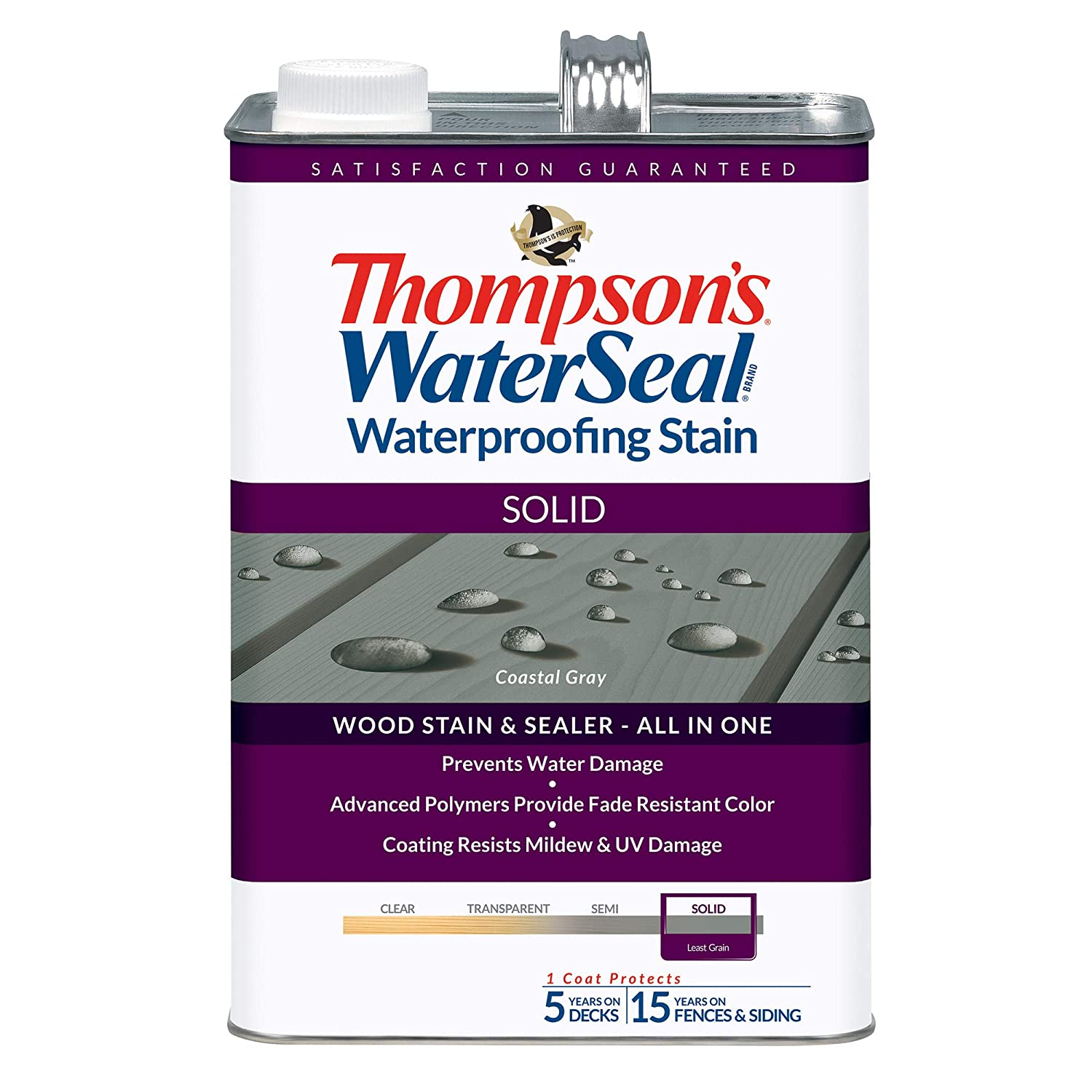 Thompson's Water Seal ,Solid Waterproofing Stain