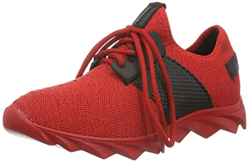Tamboga1118 - Zapatillas Unisex Adulto, Color Rojo, Talla 42
