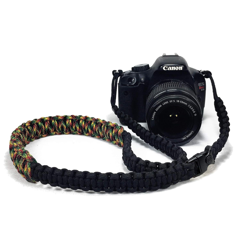 Jamaican Paracord - Correa de Seguridad para cámara réflex Digital ...