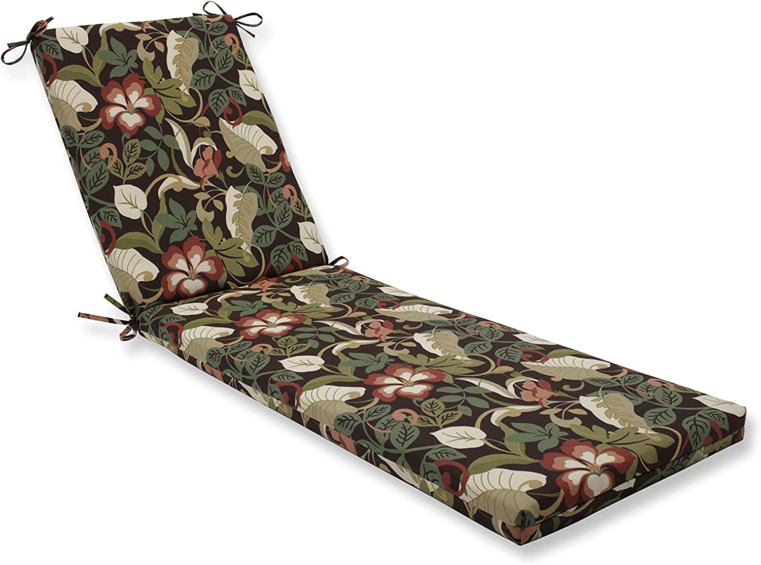 Pillow Perfect Outdoor Indoor Coventry Cafe Chaise Lounge Cushion 80x23x3
