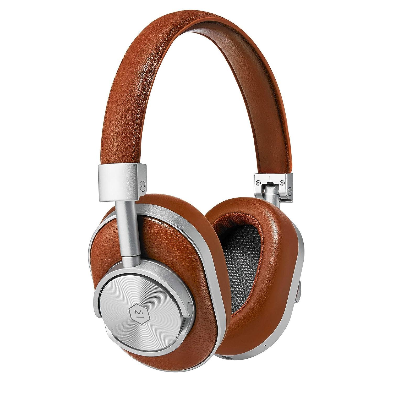Master & Dynamic MW60 Wireless Bluetooth Foldable Headphones - Premium Over-The-Ear Headphones - Noise Isolating - Portable (Renewed)