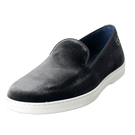 """Leblanc"" Men's Velour Loafers Slip On Casual Shoes US 11.5EE IT 10.5EE EU 44.5EE"