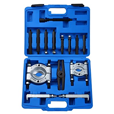 "DASBET 14PCS Bearing Separator Puller Set 2"" and 3"" Splitters Remove Bearings Kit, Heavy Duty: Automotive"