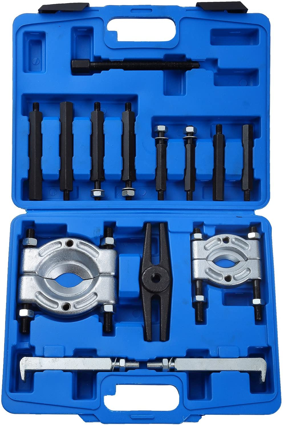 Mini Bearing Separator Puller Extractor Tool Set 9pcs For Small Gears Wheels